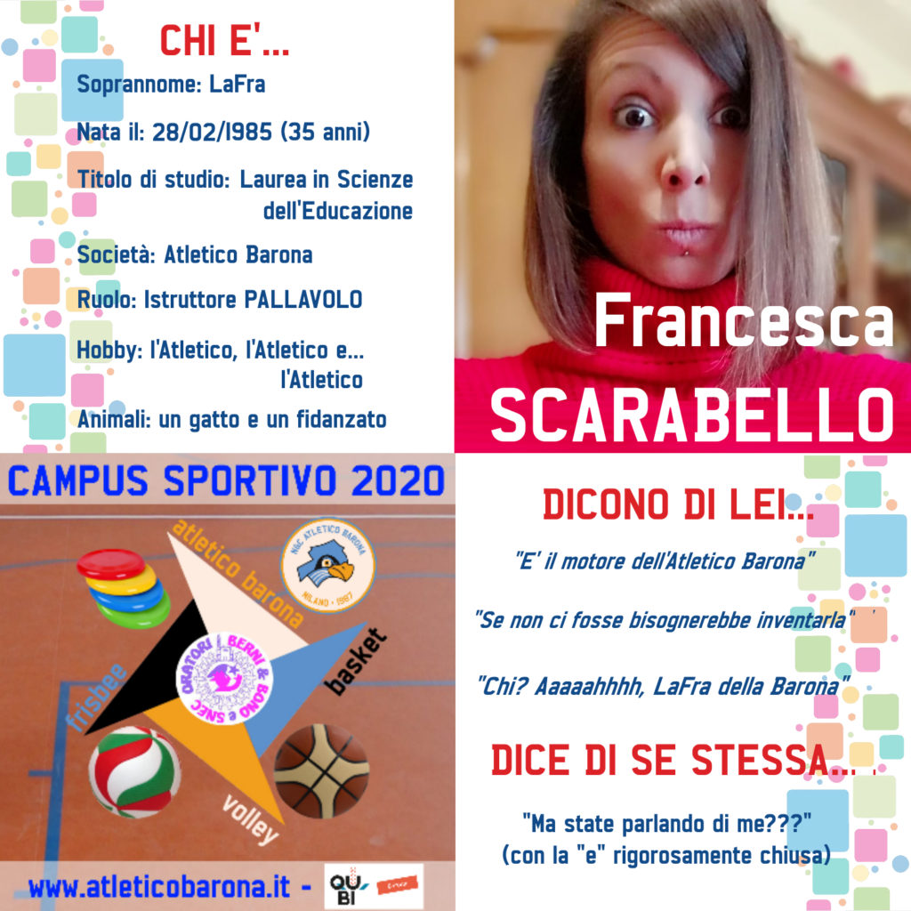 Francesca Scarabello - Istruttrice Pallavolo